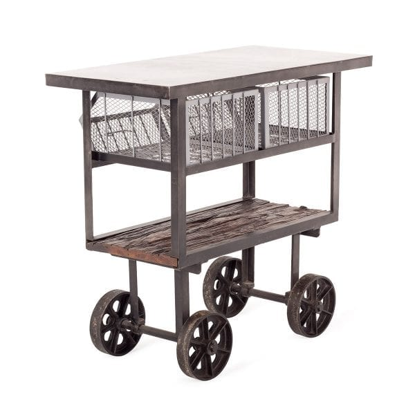 Bar carts to be used in restaurants.