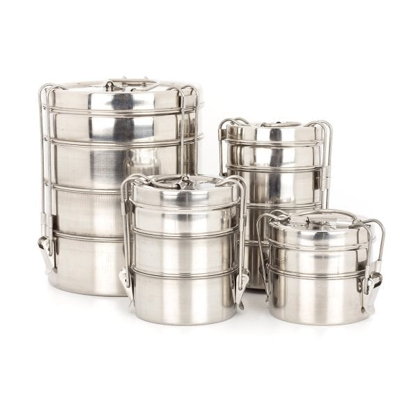 Stainless steel tiffins Wire model.