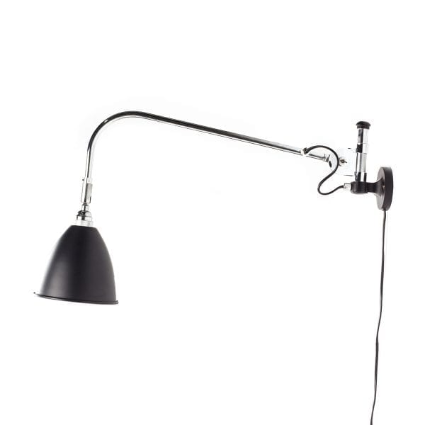 Picture of the wall lamp with long arm, Diana collection.