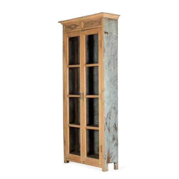 Mueble vitrine antique.