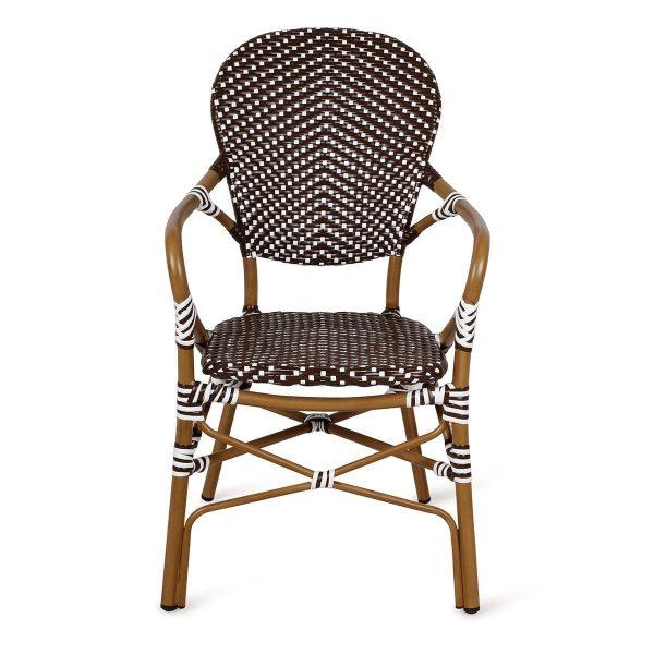 Bar terrace chairs. Hospitality.