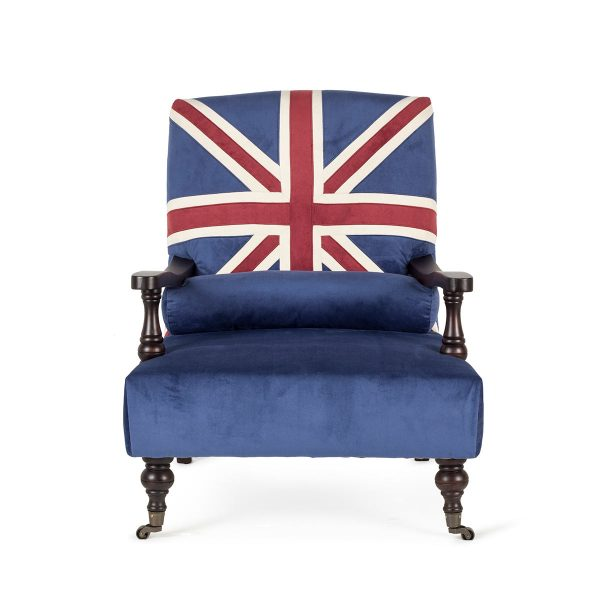 Brit style armchair.