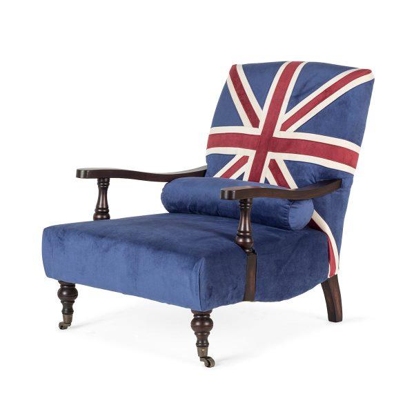 British style armchair.