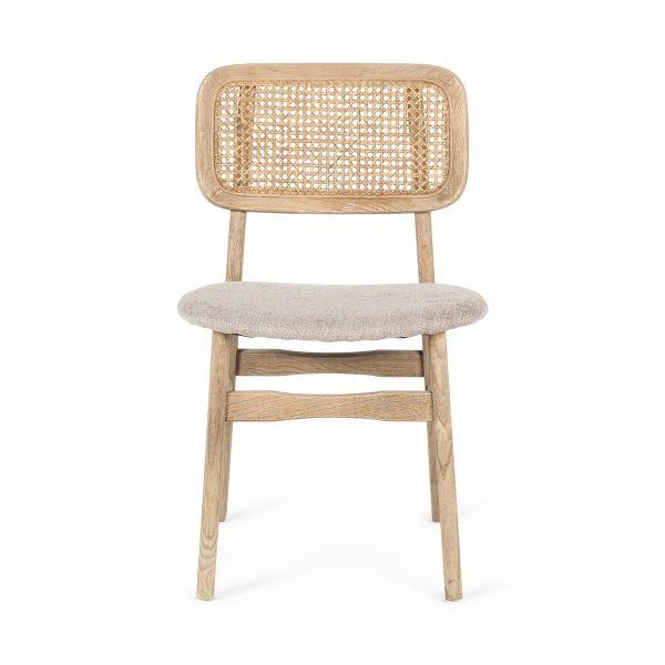 Chaise tapissée Vicky.