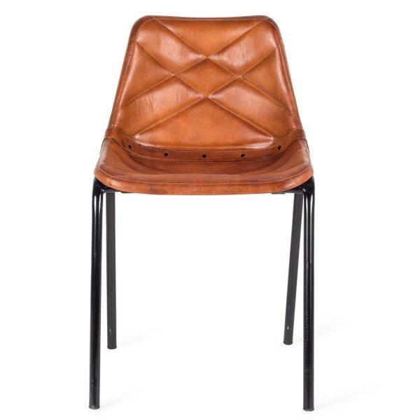 Chaises vintage industriel.