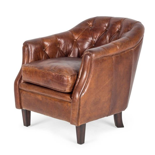 Classi-design and English-style armchairs.