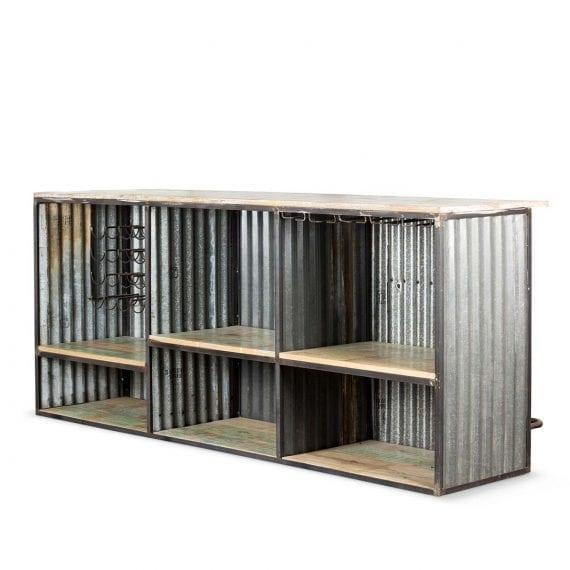 Modernes comptoirs de bars.