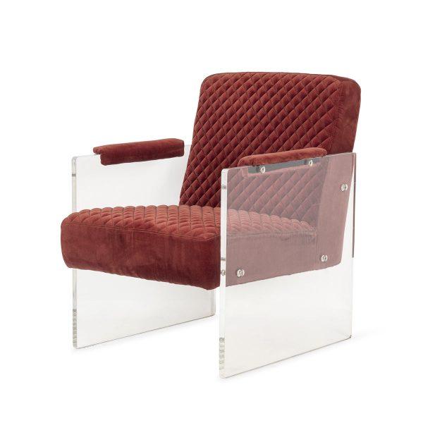 Contract armchair.
