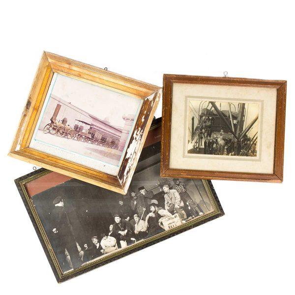 Cuadros vintage de temáticas variadas.