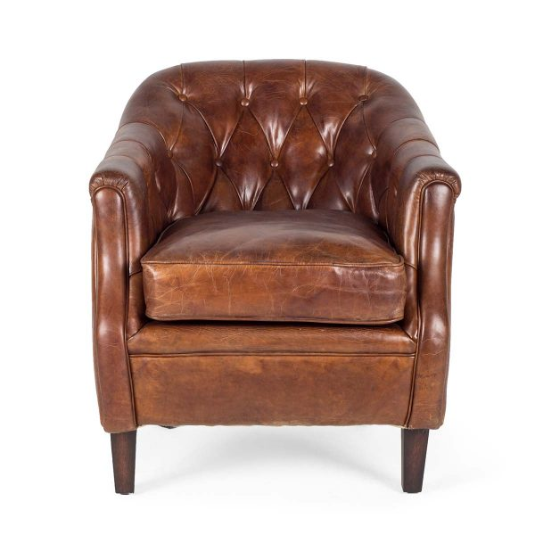 Picture of the English-style armchair Gales.