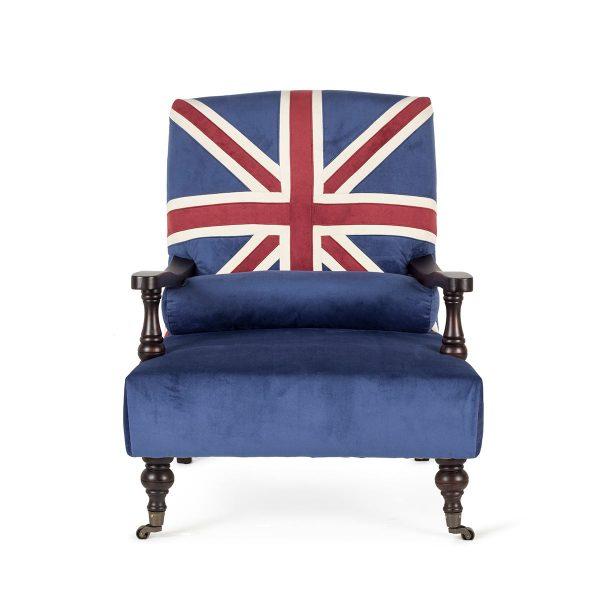 Fauteuil au style Brit.