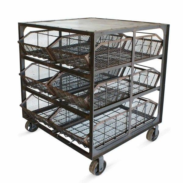 Picture of the Muriel cart 6 baskets Francisco Segarra.