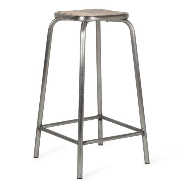 High bar stools.