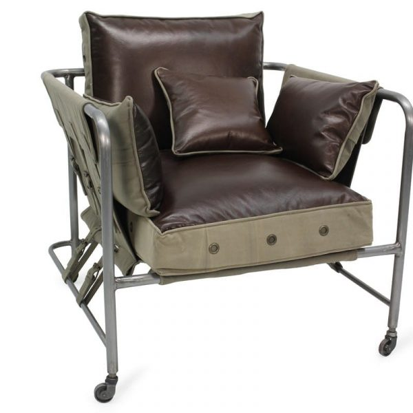 Industrial contract armchairs.