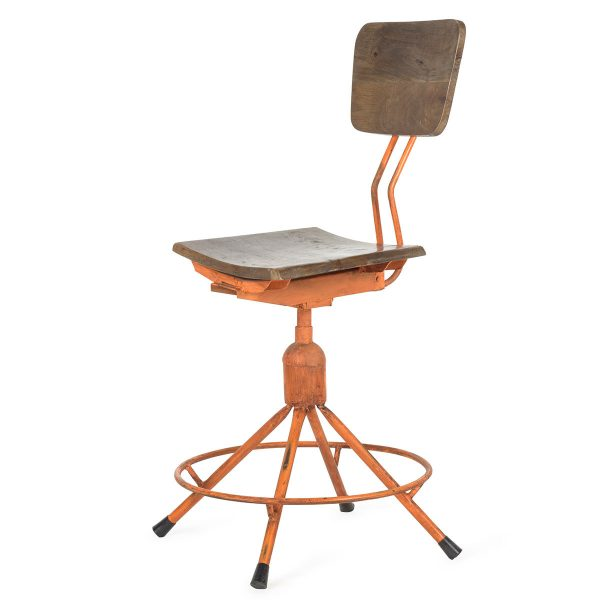 Industrial design chair.