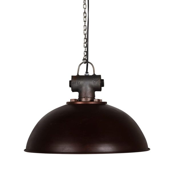 Industrial style lamps.
