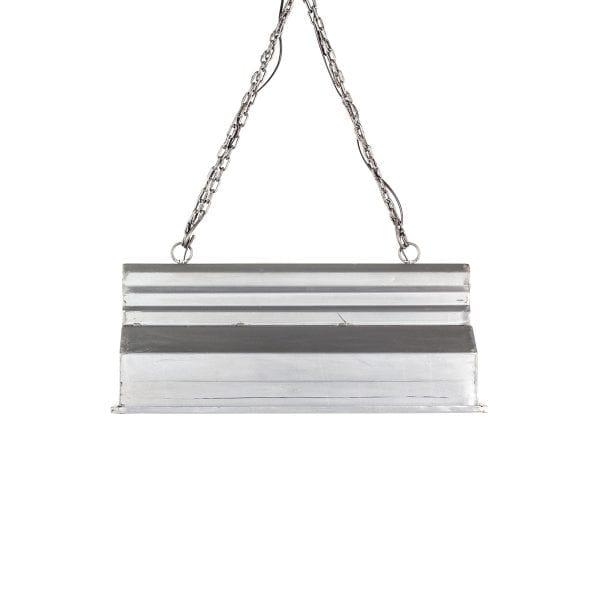 Lampes suspendues style industriel.