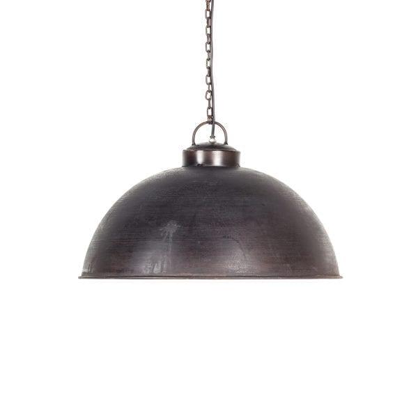 Lampes de suspension au style industriel.