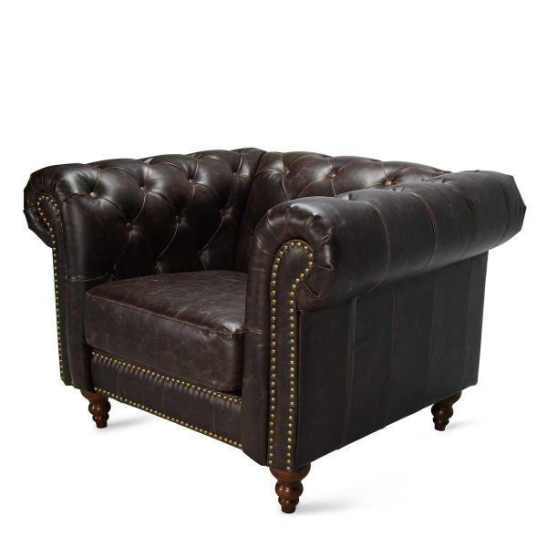Picture of the chester armchair from Francisco Segarra firm.