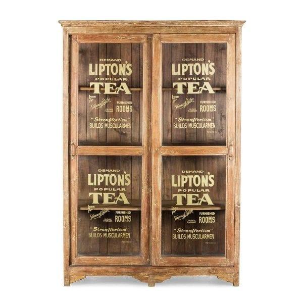 Mueble para salón de té.