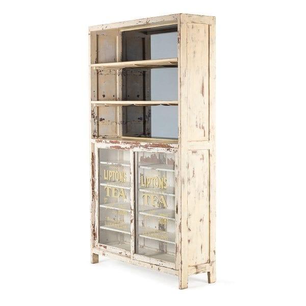 Mueble para uso en herbolarios.