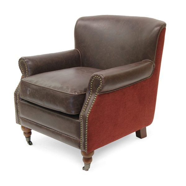 Pictures. Office armchairs. Motto Deco model in red.