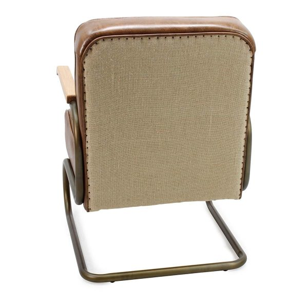 Rear of the contract armchairs Anera model.