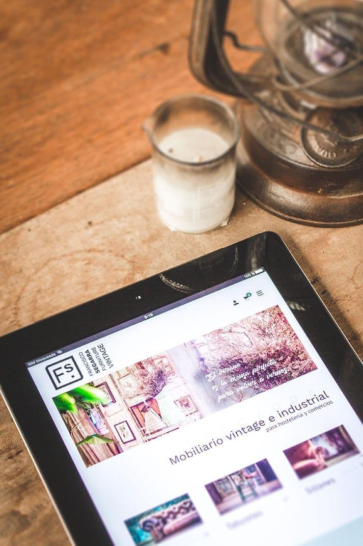 Tienda online mobiliario vintage.
