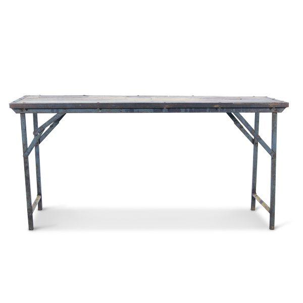 Antique folding tables.