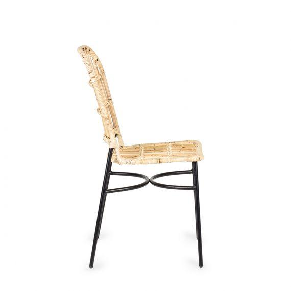 """Chaise de cafétéria mod. """"Jakarta"""" de Francisco Segarra."""
