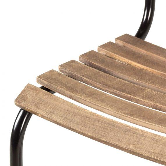 Image de détail de la chaise Miami.