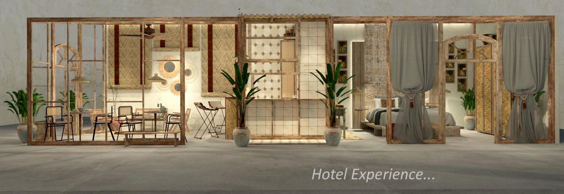 Création d'hôtels. Francisco Segarra.