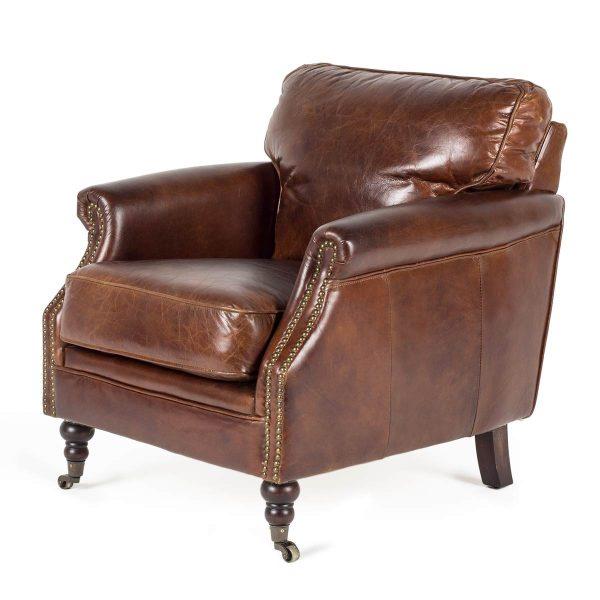 Elegant vintage armchair.