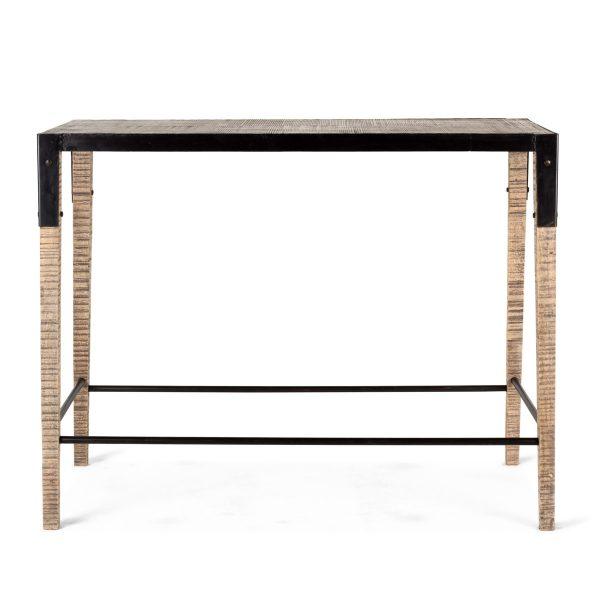 Mesa alta rectangular.
