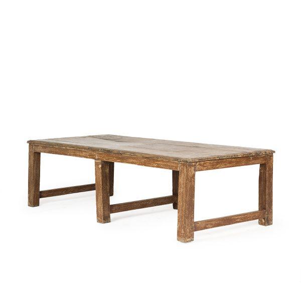 Mesa comercial vintage madera.