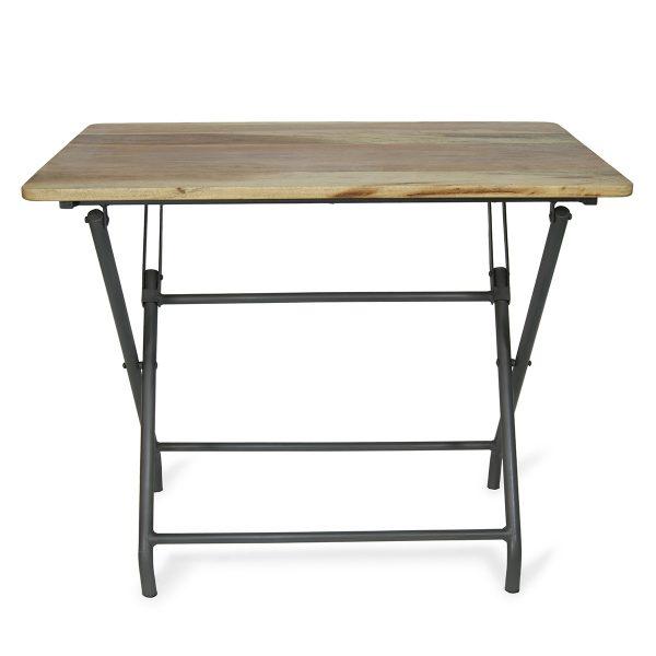 Mesas de bar plegables en madera modelo Aries.