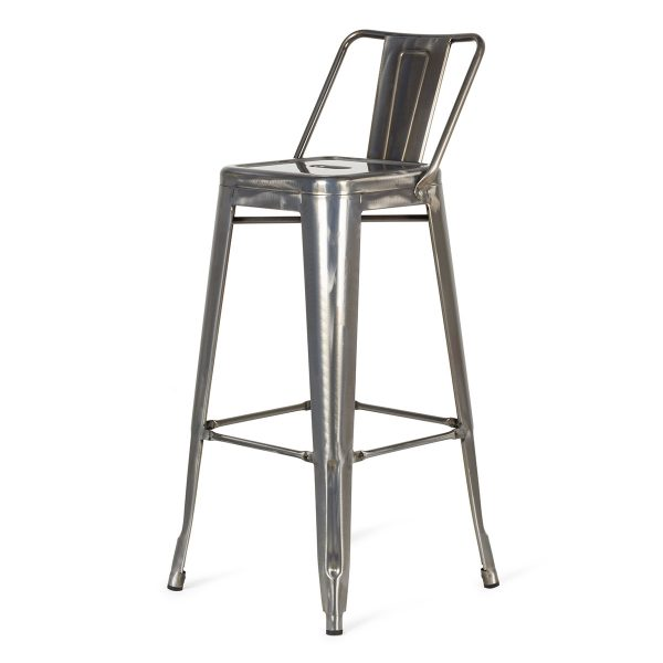 Silver Podium stool outlet.