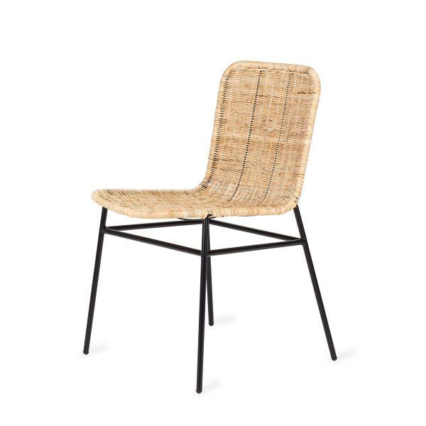 Rattan chair Benjina model.