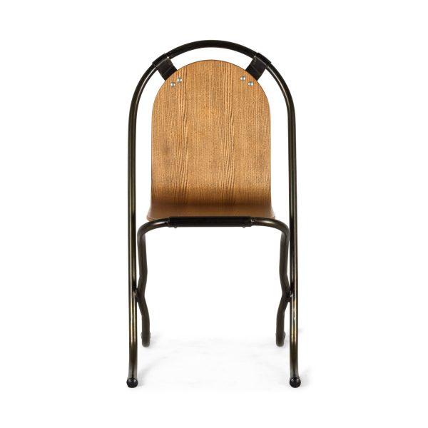 Retro wooden chair.