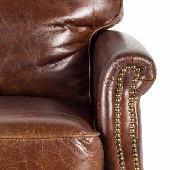 Imagen de detalle del sillón Churchill.