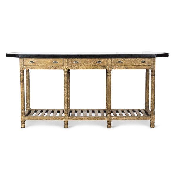 Table haute pour commerces.