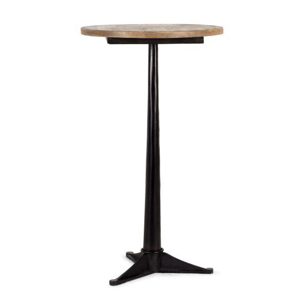 Table haute ronde Gisela Land.