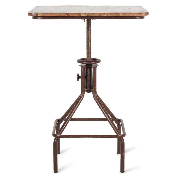 Table réglable pour l'hôtellerie.
