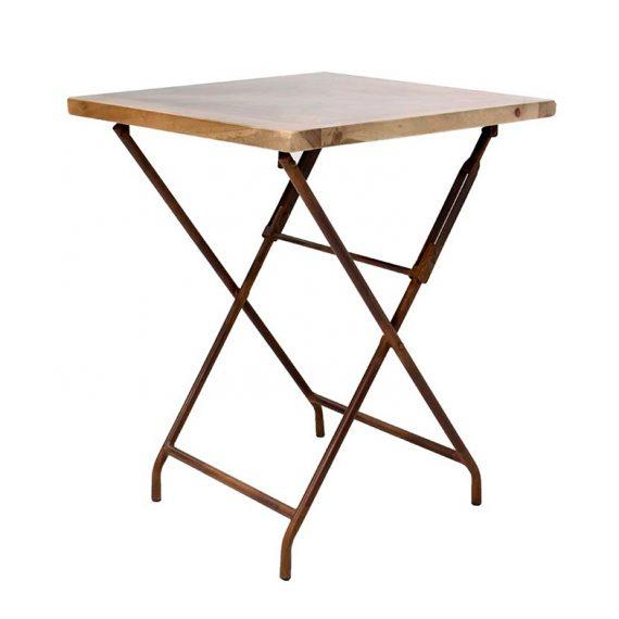 Tables de bar pliables.
