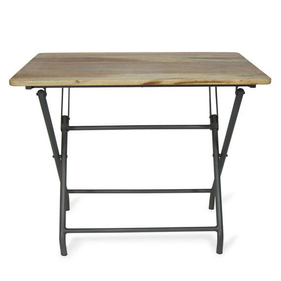 Tables de bar pliables en bois modèle Aries.