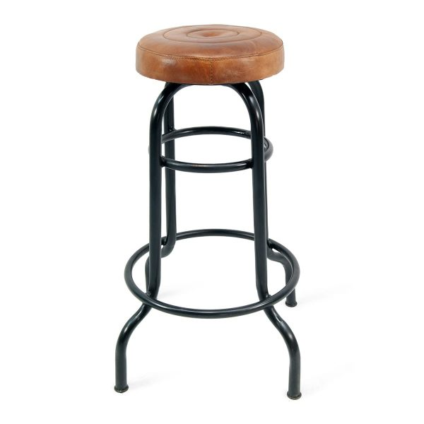 High bar stools without back Yorker Creta.