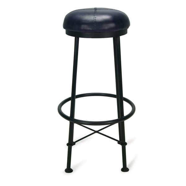 Picture. Black high stool Droll.