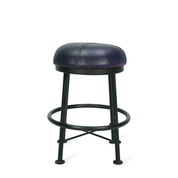 Picture of the blue low stools Droll.