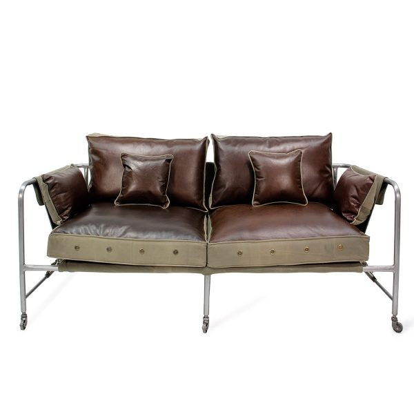 Darwin. Industrial style contract sofas.
