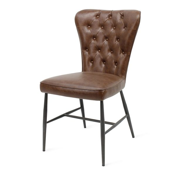 Restaurant chairs brown Nordwich model.